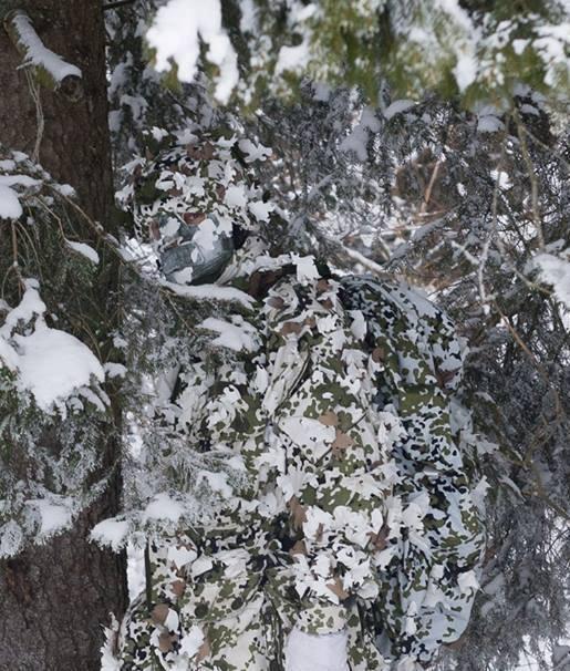 снежный камуфляж