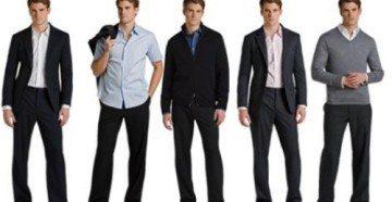 Таблица размеров одежды для мужчин в России, Европе и США