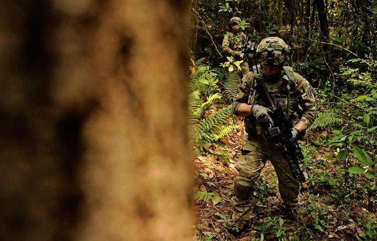 Фото камуфляжа мультикам для леса и джунглей
