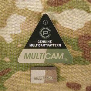 Знак Multicam на ткани