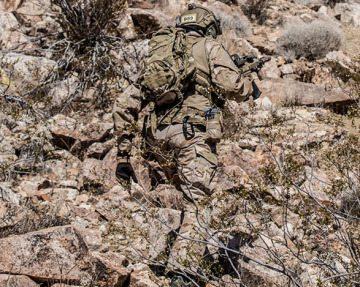 Фото бойца в камуфляже мультикам