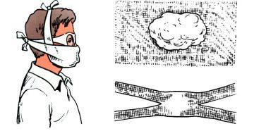 Ватно-марлевые повязки: назначение и способы изготовления