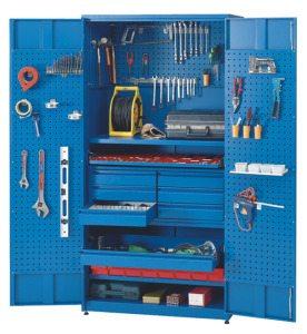 Импортный шкаф для рабочего инструмента