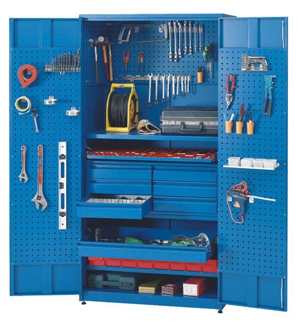 Шкафы для инструмента своими руками 22