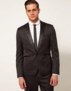 Пиджак из жаккардовой ткани