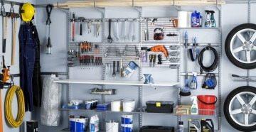 Инструменты в шкафу