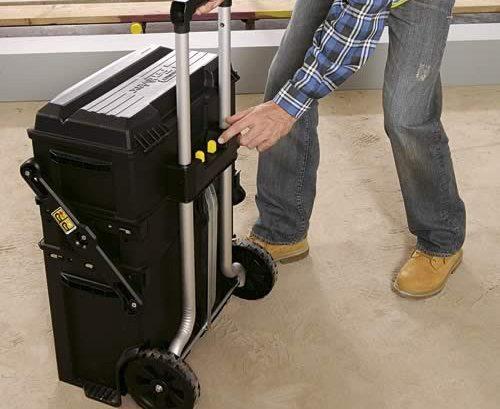 Ящик с колесами для инструментов своими руками 306