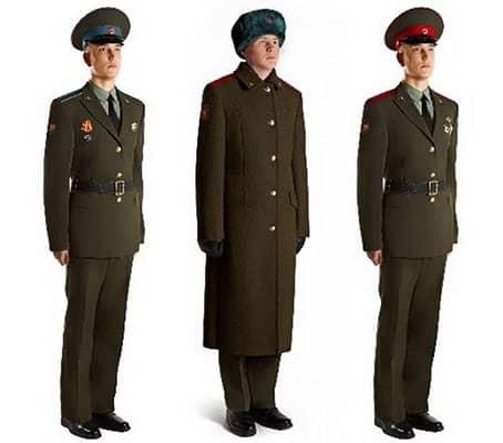 Парадная форма курсантов СВ и ВВС