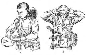 Как правильно одевать противогаз