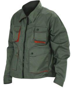 Куртка из саржи