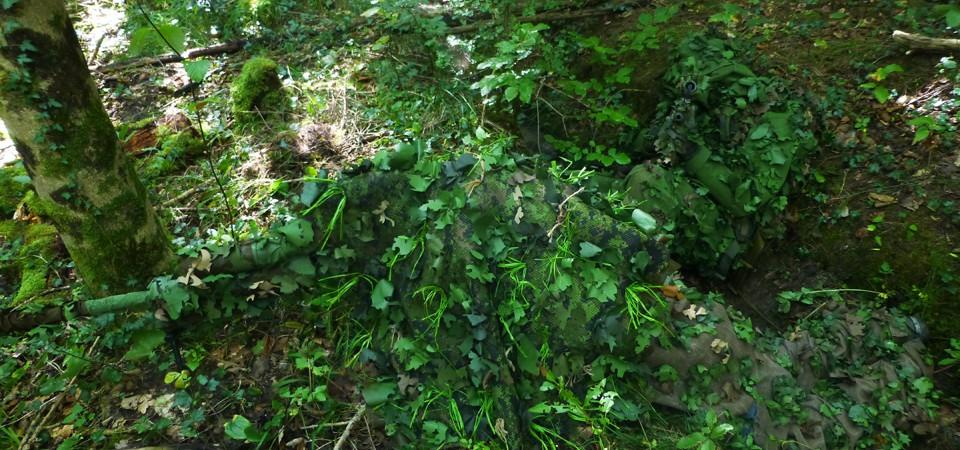 камуфляж лес