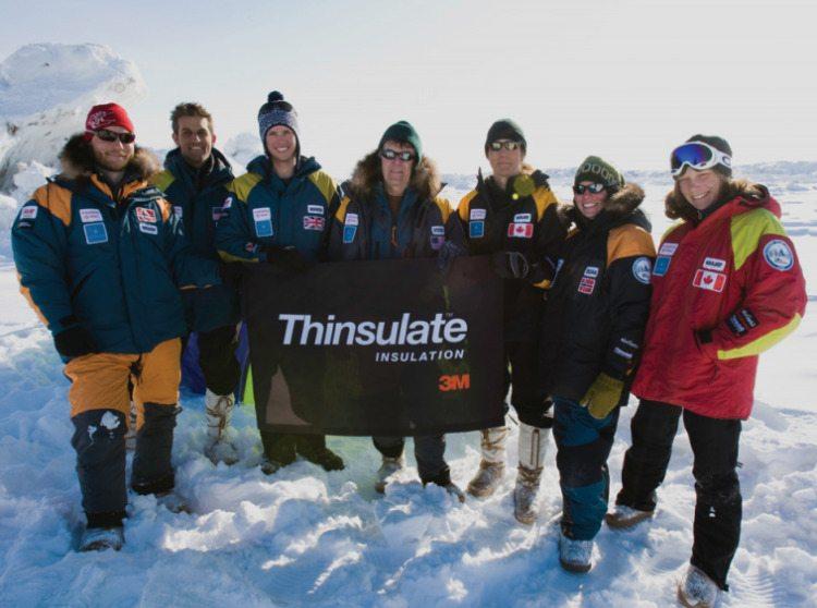 Команда Thinsulate