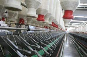 Производство ткани джерси