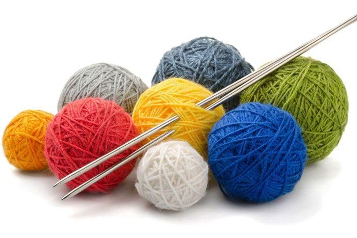 Виды пряжи для вязание на спицах