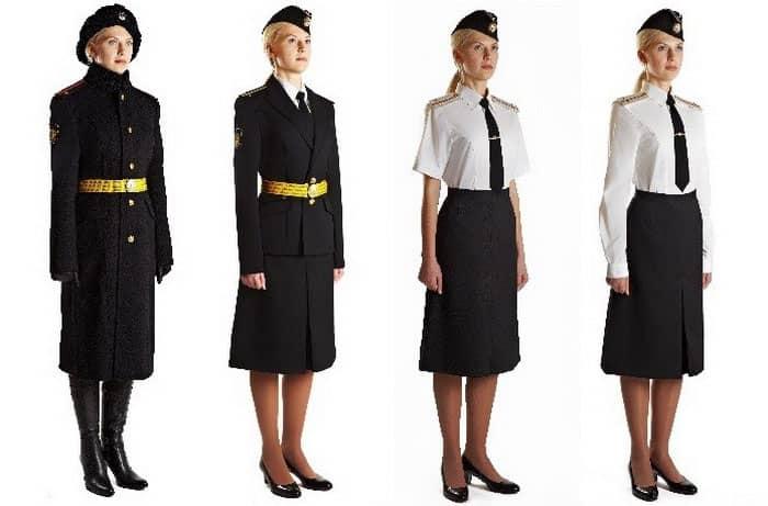 Женская парадная форма ВМФ